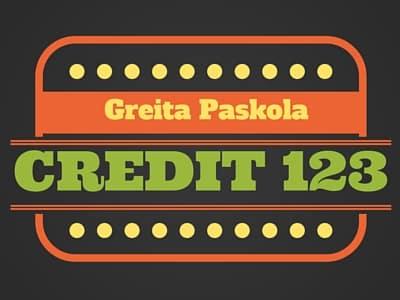 Greitas kreditas 123